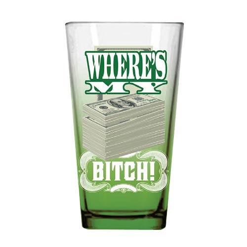 Breaking Bad Where's My Money Pint Glass