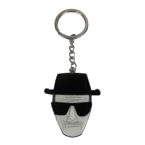 Breaking Bad Heisenberg Sketch Key Chain