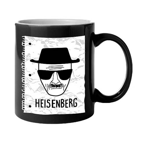 Breaking Bad Heisenberg Sketch Coffee Mug