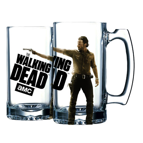 The Walking Dead Rick Grimes Beer Mug