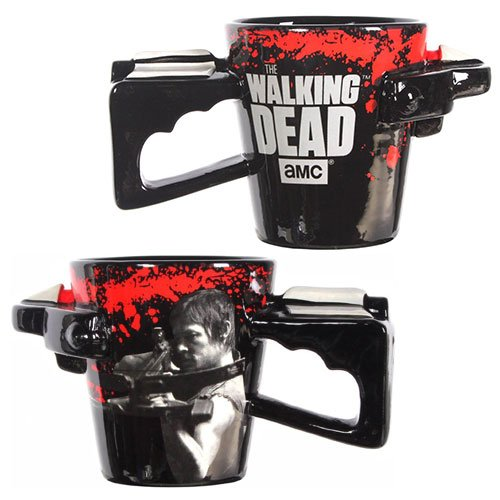 The Walking Dead Daryl Dixon Crossbow Handle Coffee Mug