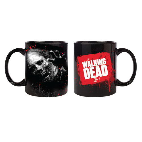 The Walking Dead Decaying Zombie Coffee Mug