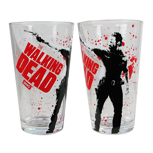 The Walking Dead Rick Grimes Pint Glass