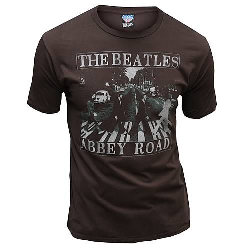 The Beatles Abbey Road Vintage Style T-Shirt