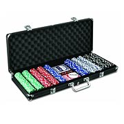 Poker Chip Case Aluminum Version with 500 Chips
