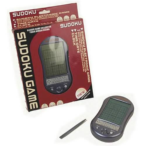 Sudoku Game Electronic Touch Screen Version