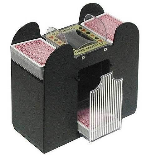 Automatic Card Shuffler 6-Deck Version
