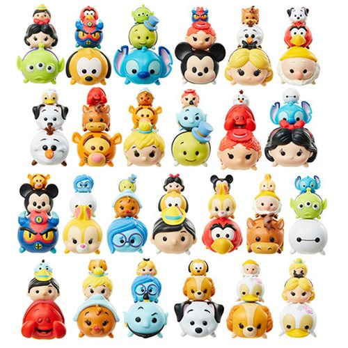disney tsum tsum 3 pack mini figures wave 3 case jakks. Black Bedroom Furniture Sets. Home Design Ideas