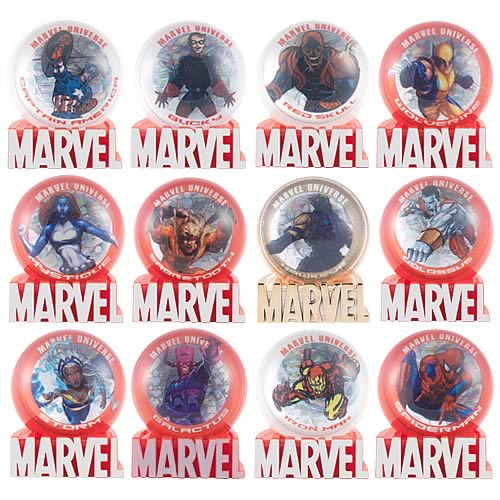 Marvel Heroes Marbles Wave 1 Case