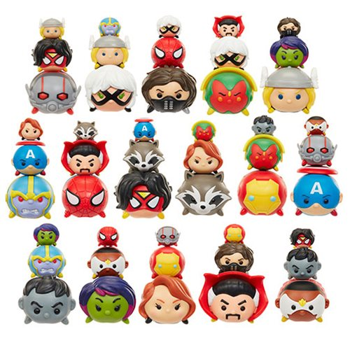 Marvel Tsum Tsum 3-Pack Mini-Figures Wave 1 Case