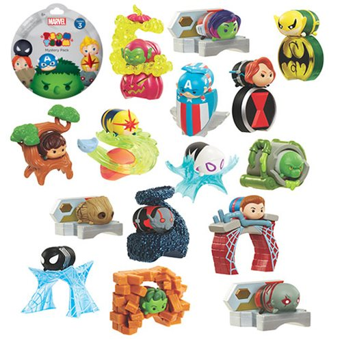 Marvel Tsum Tsum Blind Packs Mini Figures Wave 3 Case