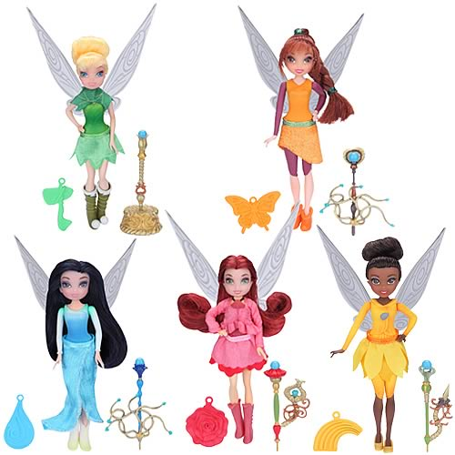 Disney Fairies 4 1/2-Inch Dolls Wave 1 Case