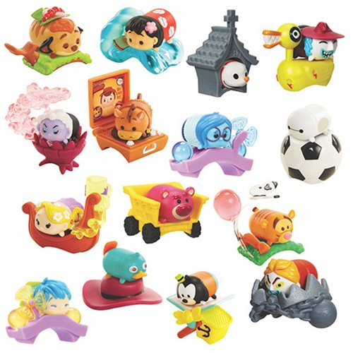 Disney Tsum Tsum Blind Pack Mini Figures Wave 4 Case