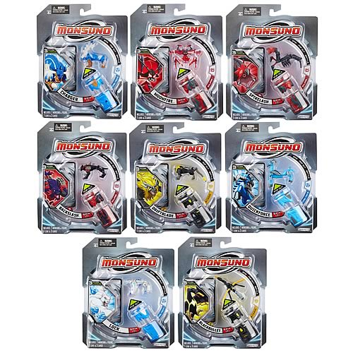 Monsuno Core and Action Figure Wave 1 Case