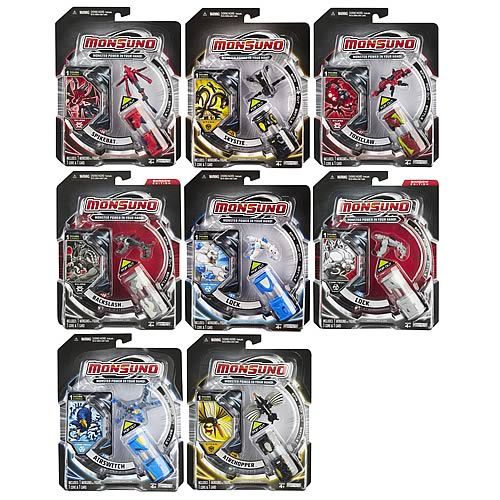 Monsuno Core and Action Figure Wave 3 Case