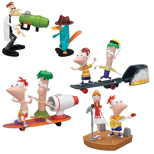 Educational Games Toys R Us : Disney phineas and ferb toys action figure toy review from