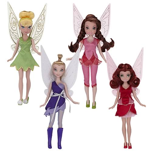 Disney Fairies Pixie Hollow Games Fashion Dolls Wave 4 Case