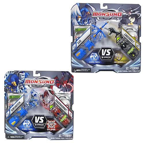 Monsuno Core Combat 2-Pack Wave 2 Case