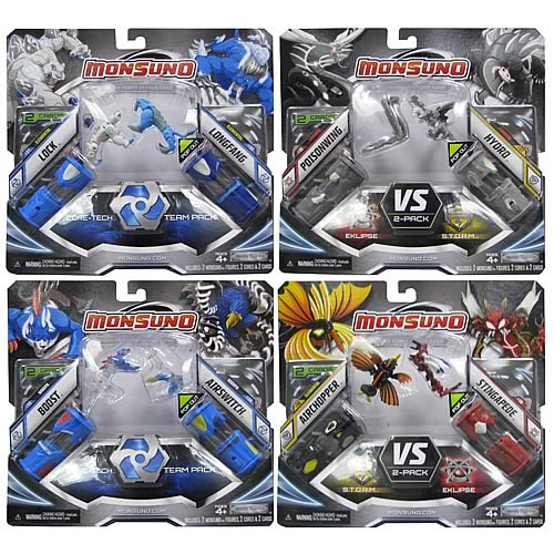 Monsuno Core Combat 2-Pack Wave 3 Case