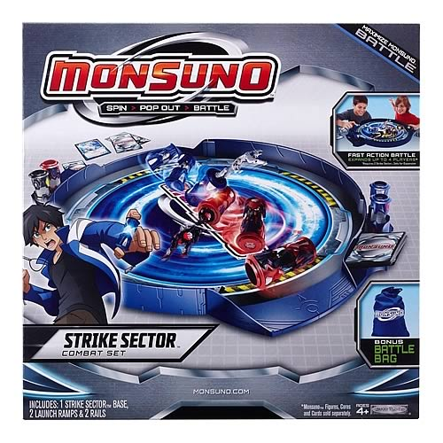 Monsuno Strike Sector Combat Playset Case