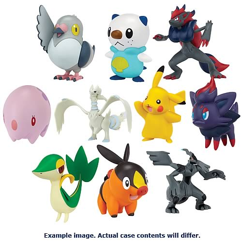 Pokemon Black and White Series 1 Action Figures Case