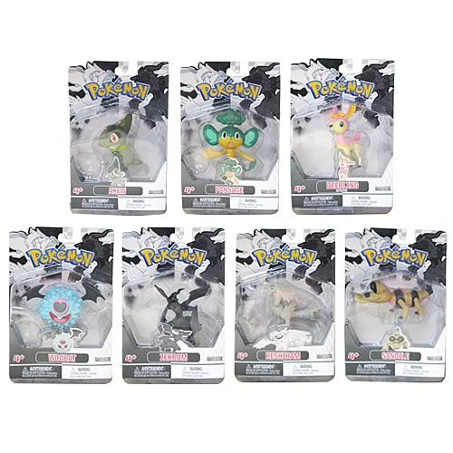 Pokemon Black and White Series 2 Action Figures Case