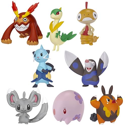 Pokemon Black and White Series 3 Action Figures Case