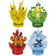Pokemon Black and White Attack Figures Series 3 Case