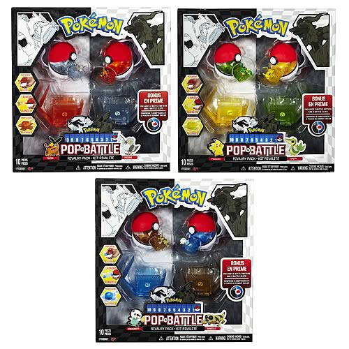 Pokemon Black & White Wv 1 Pop & Battle Rivalry Figure Case
