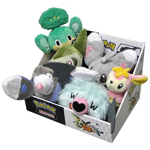 Pokemon Black and White Mini Plush Series 2 Case