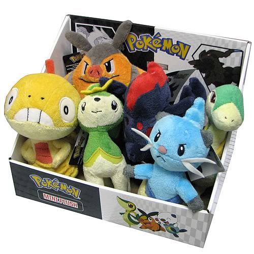 Pokemon Black and White Mini Plush Series 3 Case