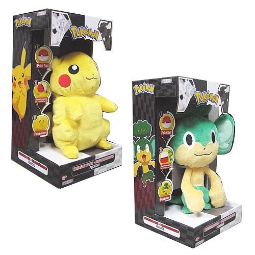 Pokemon Black and White Reversible Plush Series 2 Case