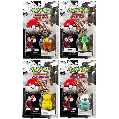 Pokemon Black & White Wave 1 Throw Poke Ball Case