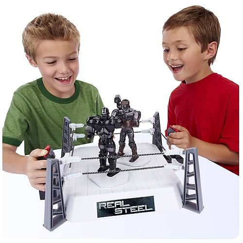 Real Steel Movie Robot Brawling Game