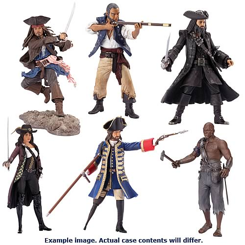 POTC On Stranger Tides Collector Figures Wave 1 Case