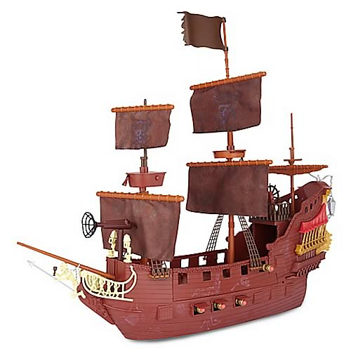 POTC On Stranger Tides Queen Anne's Revenge Ship Playset