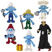 Smurfs Movie Grab 'Ems Figures Wave 2 Set