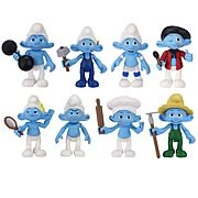 Smurfs Movie Basic Figure 2-Packs Wave 2 Set