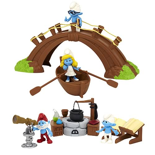 Smurfs Movie Magic Moments Figure Gift Packs Wave 1 Set