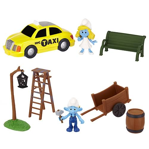 Smurfs Movie Adventure Packs Figures Wave 2 Set