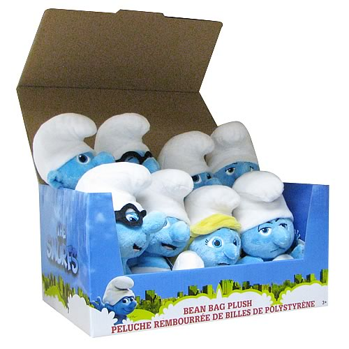 Smurfs Movie Bean Bag Plush Wave 2 Case