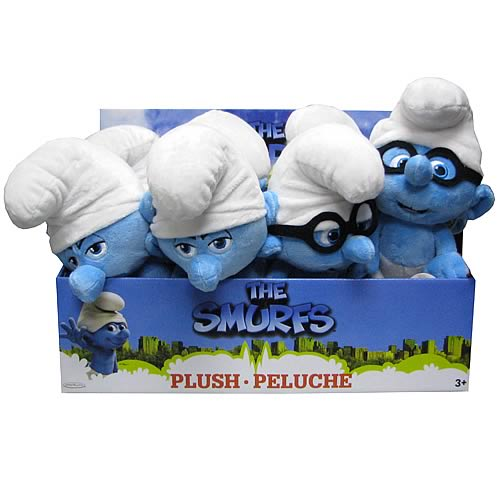 Smurfs Movie Basic Plush Wave 2 Case