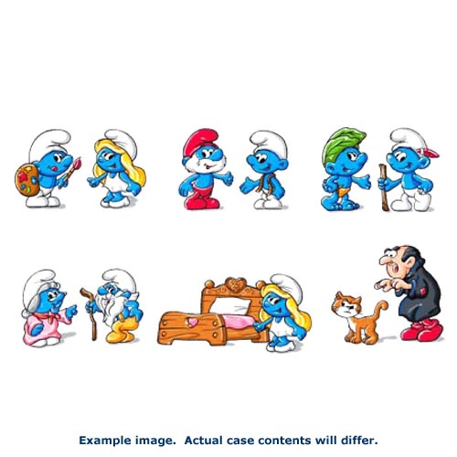 Smurfs Action Figure 2-Packs Wave 2 Set