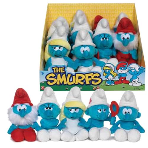 Smurfs Beanie Plush Wave 1 Case