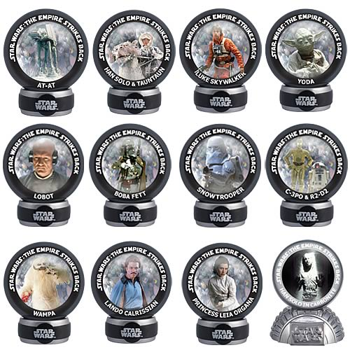 Star Wars Episode V Marbles Wave 1 Set