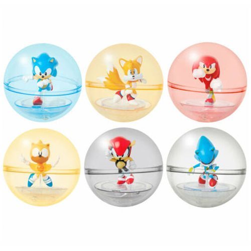 Sonic the Hedgehog 2-Inch Sonic Sphere Figure Wave 1 Case