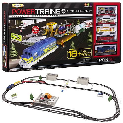 Power Trains Auto Loader City Set