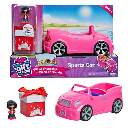 Gift 'Ems Sports Car Playset