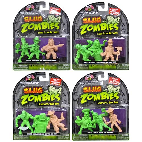S.L.U.G. Zombies Mini-Figures 3-Pack Wave 2