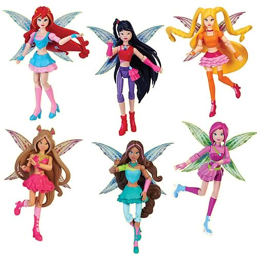 Winx Club Believix Premiere Action Doll Case